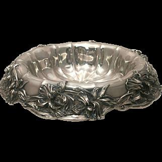 Black Starr & Frost Silver Centerpiece/Fruit Bowl Pattern #3236