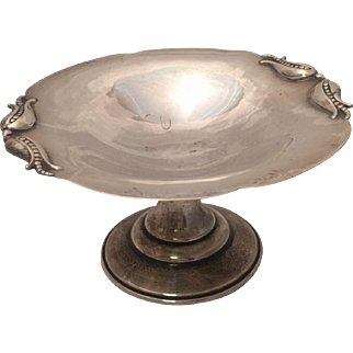 Petersen Silver Candy Dish Hand Made