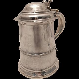 Provincial George II Silver Tankard