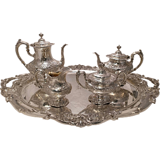 Reed &  Barton FRANCIS THE FIRST  FRANCIS I  Sterling silver Tea & Coffee service