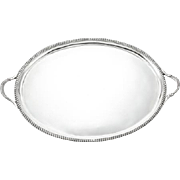 William IV Sterling Silver Two-Handled Tray