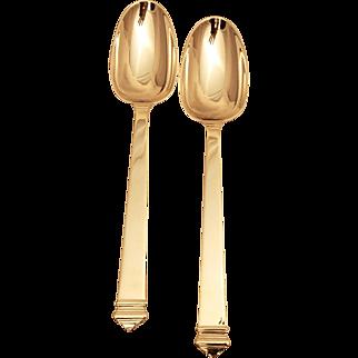 110 Pc. Sterling Silver Tiffany & Co. Flatware Set in the Hampton Pattern