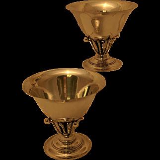 Georg Jensen Sterling Silver Bowl Pair