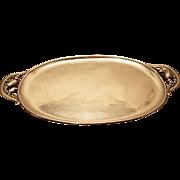 Georg Jensen Blossom Sterling Silver Tea Tray