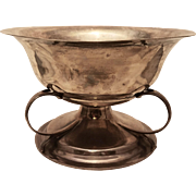 Edward VII Sterling Silver Three Handled Centerpiece / Serving Bowl