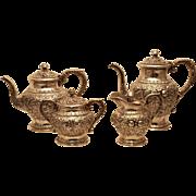 S. Kirk & Son Repousse Tea Set