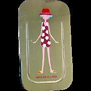 Silver Plated Agatha Ruiz De La Prada Fuchsia Flowered Cosima Bookmark by Cunill