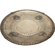Black Starr & Frost Sterling Cookie Dish
