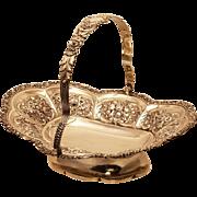 Sterling Bride Basket by Henry Herbert, 1823