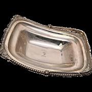 Georgian Sterling Silver Bread Basket
