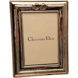 Sterling Picture Frame by Christian Dior 6x4