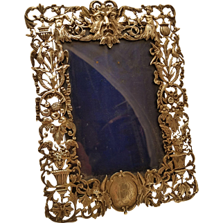 William Comyns Sterling Silver Picture Frame