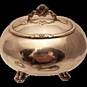 European Silver Sugar / Esrog Box