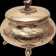 Silver Polish Sugar / Esrog Box