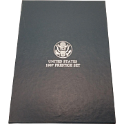 United States Mint 1987 Prestige Set