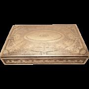 Tiffany & Co. Sterling Jewelry / Cigar Box 18496B