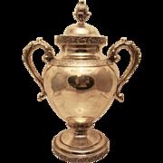 Silver Urn by Bailey & Kitchen