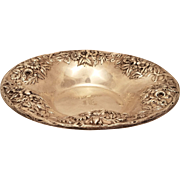 Sterling Repousse Serving Bowl by S Kirk & Son