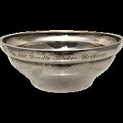 Georg Jensen Sterling Silver Fruit Bowl / Serving Bowl #416