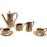 Silver Seven Piece Tea Set Austrian