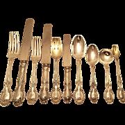 Tiffany Richelieu 1892 sterling silver flatware set dinner & luncheon