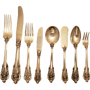 Wallace  Grand Baroque  219 Piece Set  Of Flatware will ship before holidays