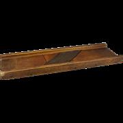 Vintage Mandolin Wooden Vegetable/Cabbage Slicer with 3 Blades
