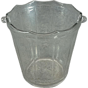 Vintage Cambridge Ice Bucket Without Handle c. 1940s