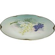 "J & C Bavaria Jaeger And Co Louise Series Porcelain  7 3/4"" Plate 1898-1923"