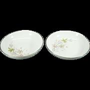"Royal M By Mita Shoten Sierra Pattern 9"" Round Vegetable Bowls Set Of 2"