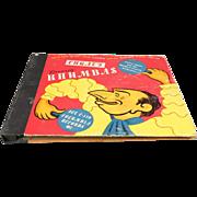 Cugat's Favorite Rhumbas 3 Of 4 Vinyl Records By Xavier Cugat.