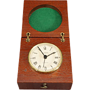 Dugena Clock In A Beautiful Wood Case