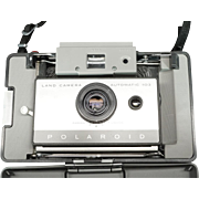 Polaroid Land Camera Automatic 103 With Manual And Shoulder-strap C. 1960s