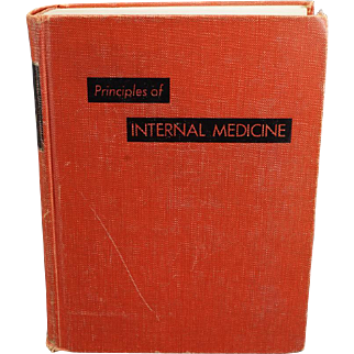 Principles Of Internal Medicine 5th Ed. By T. R. Harrison C. 1966.