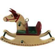 Hallmark Cards Inc. Miniature Rocking Horse
