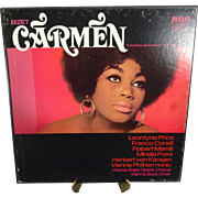 Bizet Carmen with Leontyne Price 3 LP Record Set with 20-Page Booklet