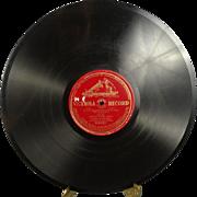 Victorola Record Lucia di Lammermoor - Chi mi frena  #96201 Circa 1920's