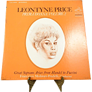 Leontyne Price Prima Donna/Volume 2 Vinyl Record
