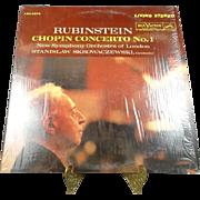RCA Vinyl Rubinstein Chopin Concerto No. 1 Record