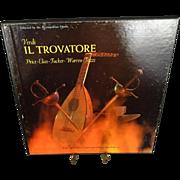 RCA Victor Verdi Il Trovatore Metropolitan Opera Vinyl Record