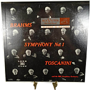 Brahms Symphony No. 1 with Arturo Toscanini and the NBC Symphony Orchestra