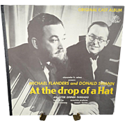 Michael Flanders and Donald Swann At the Drop of a Hat Vinyl Record