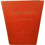 California Its History And Romance By John S. McGroarty Hardcover 1911