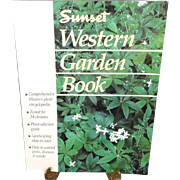 Western Garden Book By Sunset Soft Cover 1988