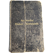 Mechanics' Pocket Memoranda 1904
