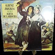 Alicia De Larrocha Albeniz Iberia Volume II LP Vinyl Record 1979 Unopened