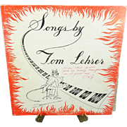 Songs by Tom Lehrer Vinyl Record