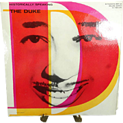 Historically Speaking by The Duke Vinyl Record
