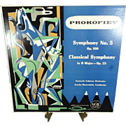 Prokofiey Symphony No. 5 and Classical Symphony by Concerts Colonne Orchestra