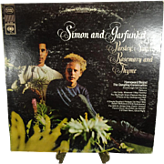 Simon And Garfunkel Parsley, Sage, Rosemary And Thyme Vinyl Record 1966 CS 9363
